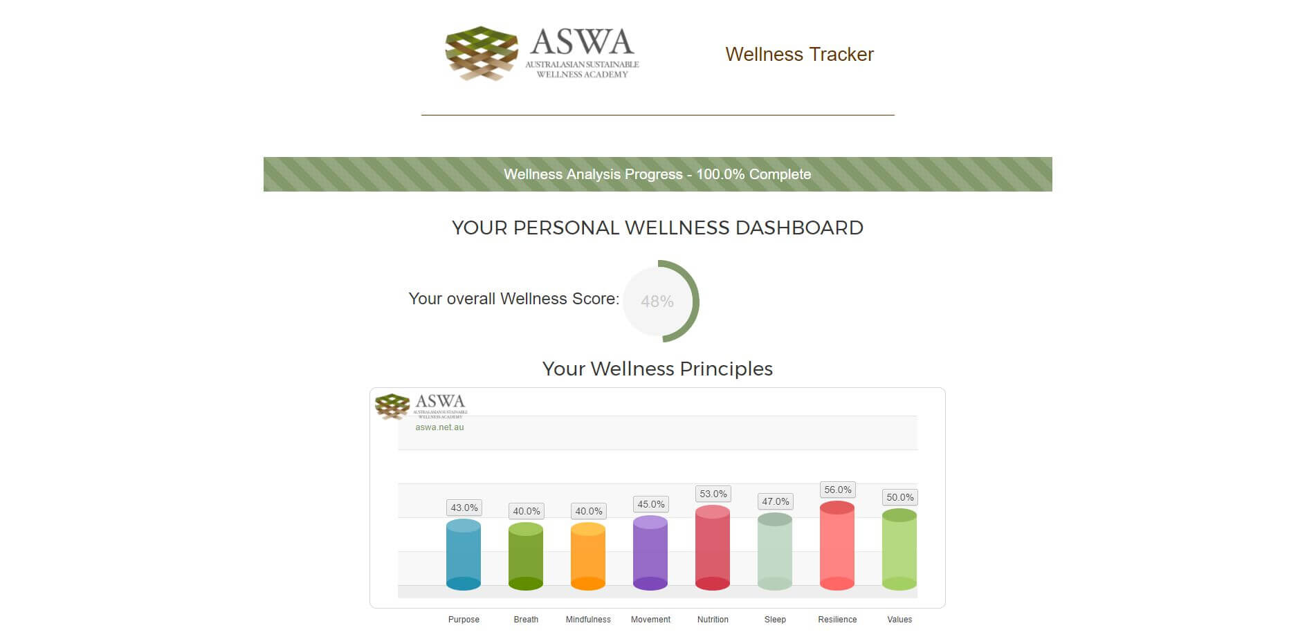 How to review, measure and track your wellness progress