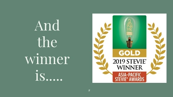 ASWA Wins GOLD in the 2019 Asia-Pacific Stevie Awards®